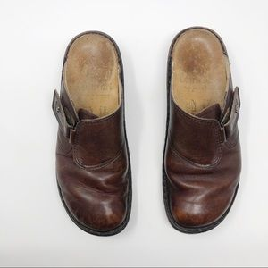 [Finn Comfort] German leather clog 38
